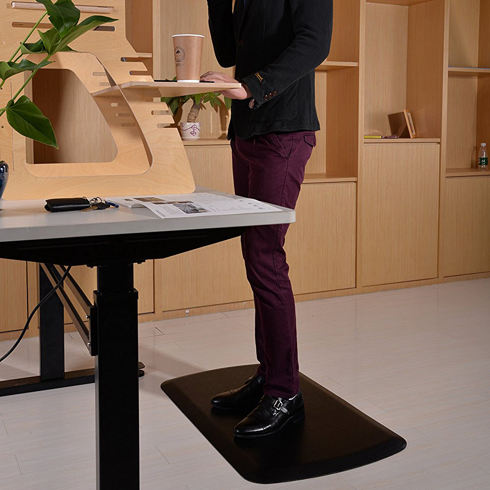 1396 Anti-fatigue office mats for the standing worker