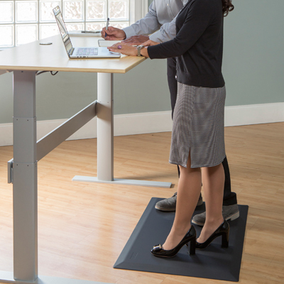 1412 Anti-fatigue office mats for the standing worker
