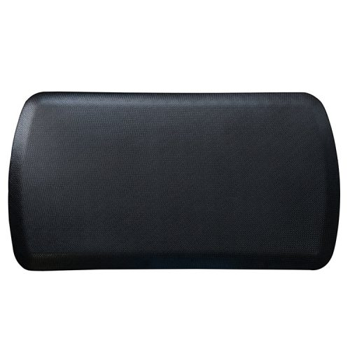 Modern black salon floor mat on sale