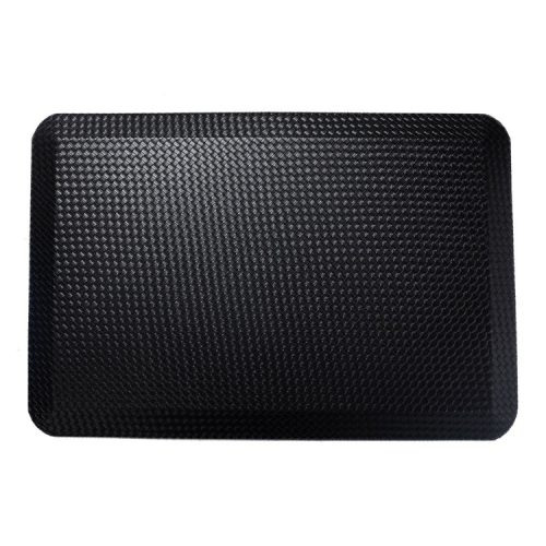 Durable black anti-slip office mats for sale