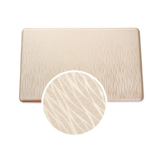 Beige medical floor mats for standing