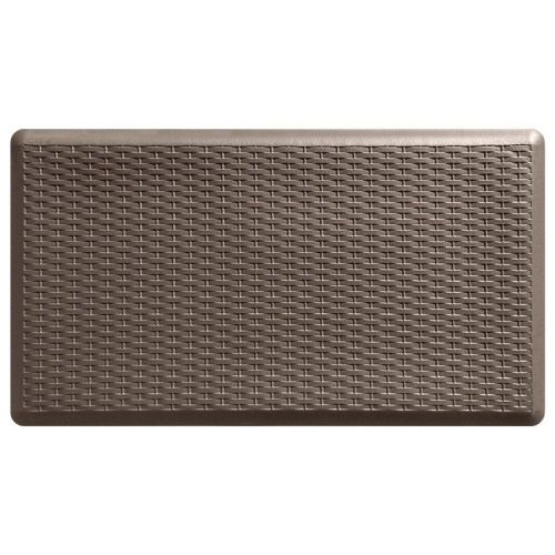 Durable non-slip soft standing mats for office workers