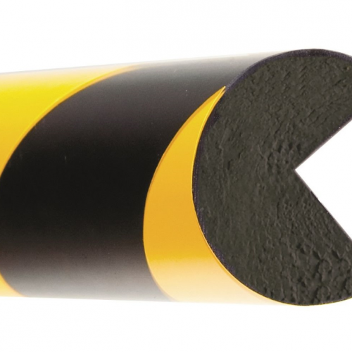High Quality Red Black & Yellow Length Pu Foam Round Wall Corner Protector