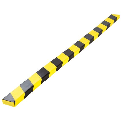 Good quality yellow and black PU foam wall-edge corner protector for safety