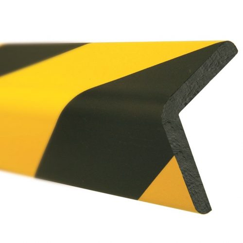 Waterproof reflective yellow/black car parking foam corner protector